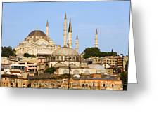 City Of Istanbul Greeting Card