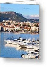 City Of Split In Croatia Greeting Card