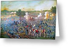 Civil War: Gettysburg, 1863 Greeting Card