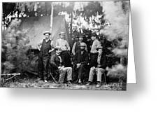 Civil War: Signal Corps Greeting Card