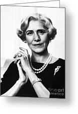 Clare Boothe Luce (1903-1987) Greeting Card