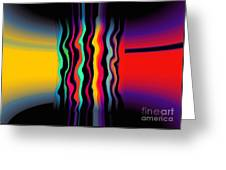 Color Pass Greeting Card