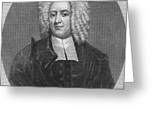Cotton Mather (1663-1728) Greeting Card