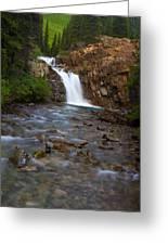 Crystal River Waterfall Greeting Card
