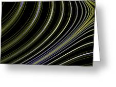 Curve Art Greeting Card