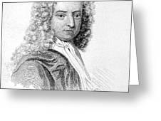 Daniel Defoe (c1659-1731) Greeting Card