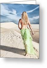 Desert Woman Greeting Card
