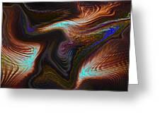 Digital Abstract Greeting Card