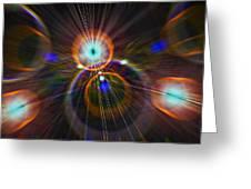 Digital Speed Art Greeting Card