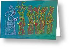 Dinka Wise Virgins Greeting Card