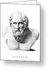 Diogenes (d. C320 B.c.) Greeting Card