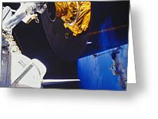 Discovery Spacewalk Greeting Card