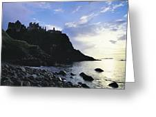 Dunluce Castle, Co Antrim, Ireland Greeting Card