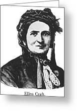 Ellen Craft (b.1826) Greeting Card by Granger
