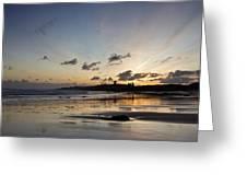 Embleton Bay Sunrise Greeting Card