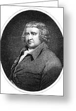 Erasmus Darwin, English Polymath Greeting Card