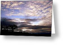 Evening Skies Greeting Card