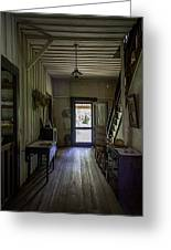 Farmhouse Entry Hall And Stairs Greeting Card