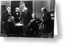 Film Still: Abraham Lincoln Greeting Card