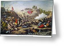 Fort Pillow Massacre, 1864 Greeting Card by Granger