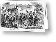 France: Revolution, 1848 Greeting Card