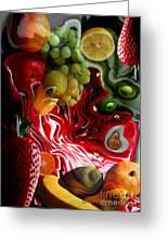 Fruit Medley Greeting Card