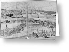 Gettysburg, 1863 Greeting Card