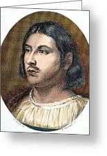 Giovanni Boccaccio Greeting Card