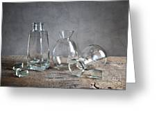 Glass Greeting Card