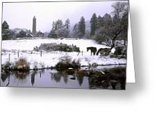 Glendalough, Co Wicklow, Ireland Greeting Card