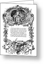 Goethe: Werther Greeting Card