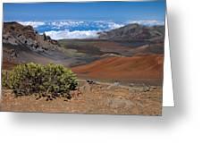 Haleakala Afternoon Greeting Card