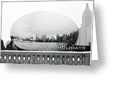 Happy Holidays From Chicago Greeting Card