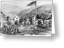Harpers Ferry Insurrection, 1859 Greeting Card by Photo Researchers