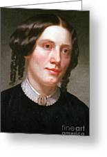 Harriet Beecher Stowe, American Greeting Card by Photo Researchers