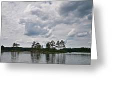 Haukkajarvi Greeting Card