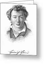 Heinrich Heine (1797-1856) Greeting Card