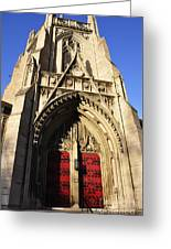 Heinz Chapel Doors Greeting Card