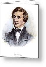 Henry David Thoreau Greeting Card