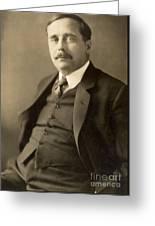 Herbert George Wells Greeting Card