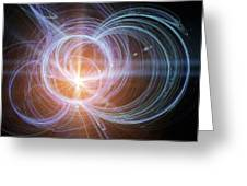 Higgs Boson, Conceptual Artwork Greeting Card by Pasieka