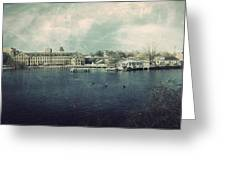 Historic Fox River Mills Greeting Card