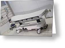 Hospital Gurney Greeting Card