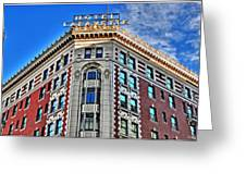 Hotel Lafayette Greeting Card