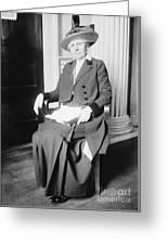 Ida M. Tarbell (1857-1944) Greeting Card