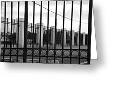 Iron And Pillars Greeting Card