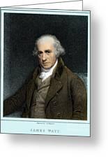 James Watt, Scottish Inventor Greeting Card