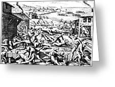 Jamestown: Massacre, 1622 Greeting Card