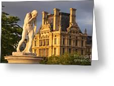 Jardin Des Tuileries Greeting Card