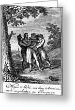 John Andre (1751-1780) Greeting Card